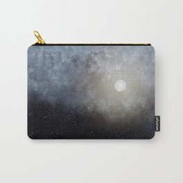 Glowing Moon in the night sky Carry-All Pouch
