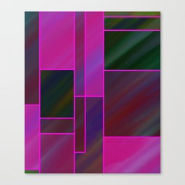 segmented (three) Canvas Print