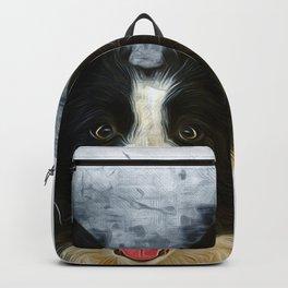 Border Collie Backpack