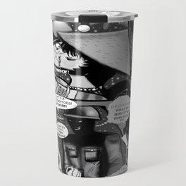 Bird of Steel Comix – #8 of 8  - (Society 6 POP-ART COLLECTION SERIES) Travel Mug