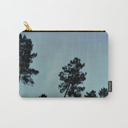 Fog and Forest IV-wood,mist,romantic, greenery,sunset,dawn,Landes forest,fantasy Carry-All Pouch