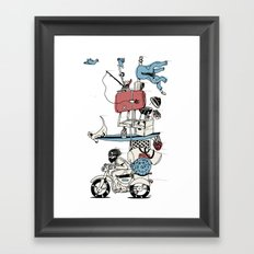 Move On Framed Art Print