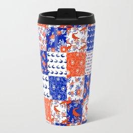 Florida University gators swamp life varsity team spirit college football quilted pattern gifts Travel Mug
