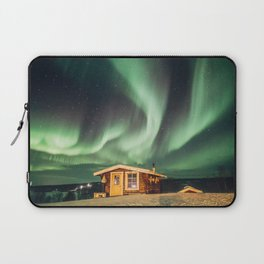 Northern Lights - Swedish Lapland Laptop Sleeve