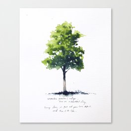 All Your Love Canvas Print