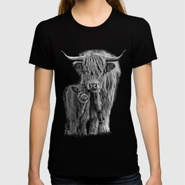 Highland Cow and The Baby T-shirt