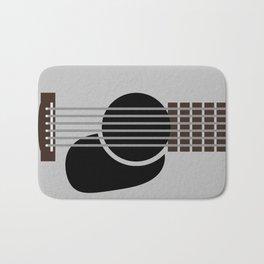 Minimalist Guitar Bath Mat