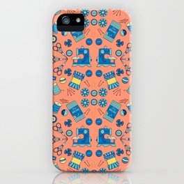Sewing Symmetry iPhone Case