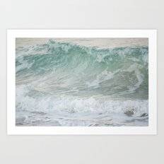You Put a Spell on Me -- The Enchantment of the Salty Sea Art Print