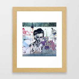 Ode to Sant Sadurni, Spain (Exhibit A) Framed Art Print