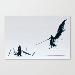 Never be a Memory Canvas Print
