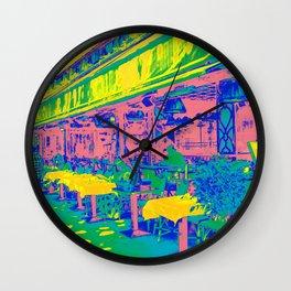 Paris Cafe Wall Clock