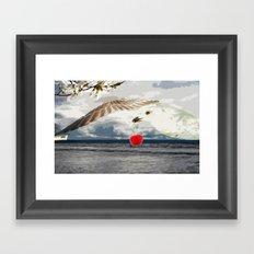 Say what you sea Framed Art Print