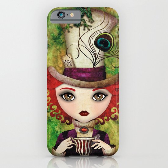 Lady Hatter iPhone & iPod Case