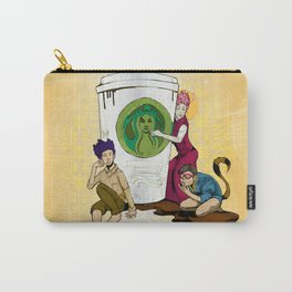 Caffiends: The Aficionado, the Cat, and the Spaz Carry-All Pouch