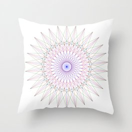 Solarize Throw Pillow