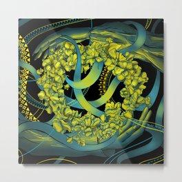 Wreath on Ivan Kupala Metal Print