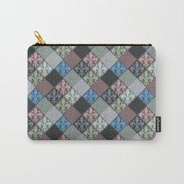 Fleur de Lys Stone Tiles Carry-All Pouch