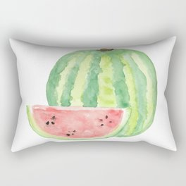 Watermelon Watercolour  Rectangular Pillow