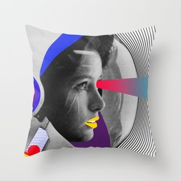 From the space Throw Pillow