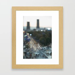 Small Places from the Big Mexico City Series (IV) Framed Art Print