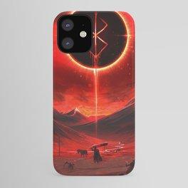 Berserk Demon Mark Moon iPhone Case