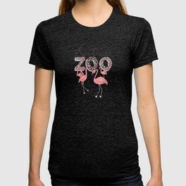 Zoo Flamingos T-shirt