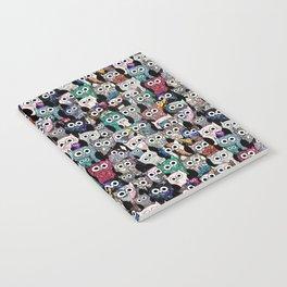 Gemstone Owls Notebook