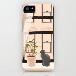 Window Kitty iPhone Case