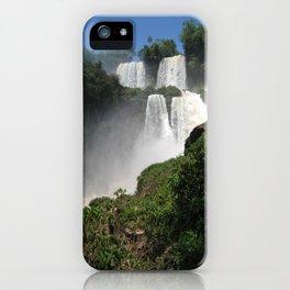 Waterfalls (Iguazu Falls) iPhone Case