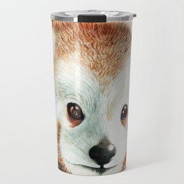 Red Panda Peekaboo Travel Mug