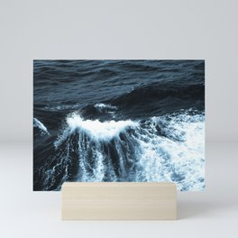 Dark Sea Waves Mini Art Print