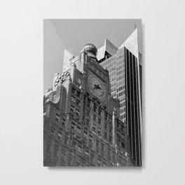 Paramount Building Times Square New York City Metal Print