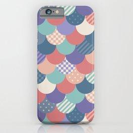 Mermaid Quilt iPhone Case