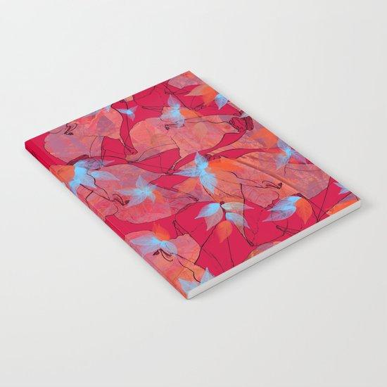 Leaf mosaic(20). Notebook