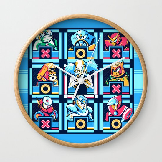 Wily For The Win Wall Clock