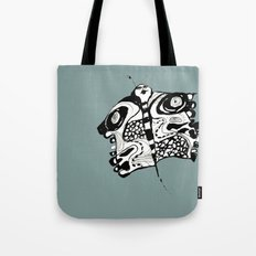Butterfly GREEN Tote Bag