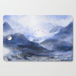 Blue Mountain Cutting Board