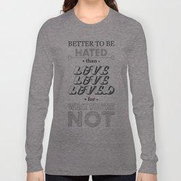I Am Not A Robot ; Marina and the Diamonds (alternative II) Long Sleeve T-shirt