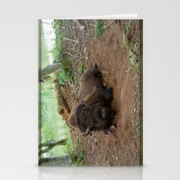buffalo Stationery Cards featuring Buffalo by FortuneArt&Photography