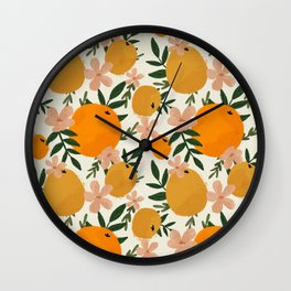Citrusy  Wall Clock