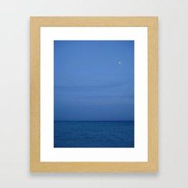 Blue by you Framed Art Print