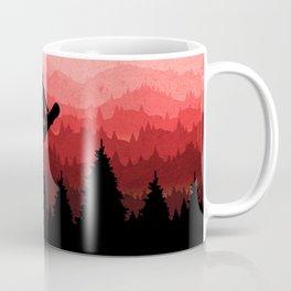 Snowboard Skyline I Coffee Mug