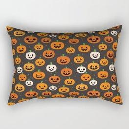 Jack-o-lanterns Rectangular Pillow