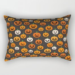 Jack-o-lanterns Rectangular Pillow