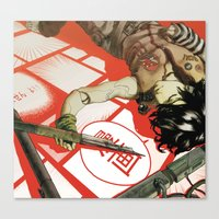 manga Canvas Prints featuring MANGA! by Toni Infante