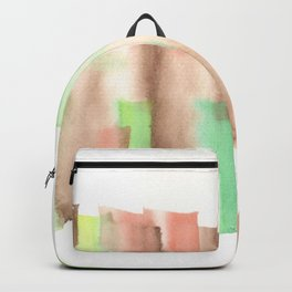[161228] 14. Abstract Watercolour Color Study |Watercolor Brush Stroke Backpack