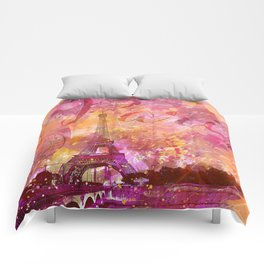 If you love Paris Comforters