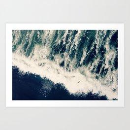 The Ocean Roars Art Print
