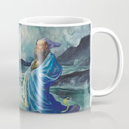 "John La Farge ""A Rishi Stirring Up a Storm"" Coffee Mug"
